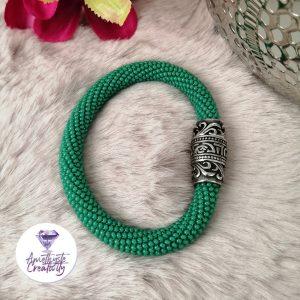 Bracelet Multirang Montre en Perles Miyukis et Acier Inoxydable